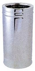 Καμινάδα μονής ραφής μονωμένη (inox)
